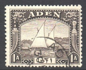 Aden Scott 3 - SG3, 1937 Dhow 1a used