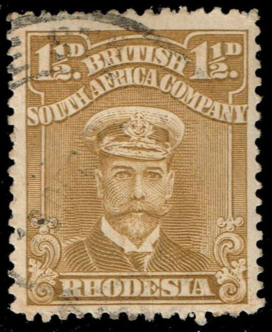 Rhodesia #121 King George V; Used (2.50)