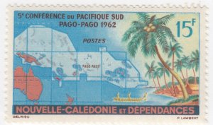 New Caledonia, Sc C231, MNH, 1962, Map