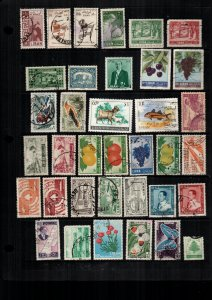 Lebanon  34  diff used and mint lot collection