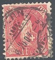 Switzerland 97 Used - Helvetia