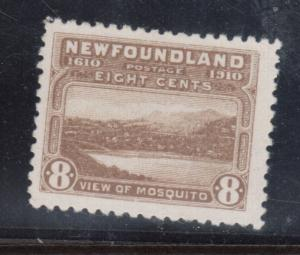 Newfoundland #93 Very Fine Mint Lightly Hinged
