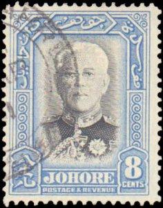 Malaya Johore #127, Complete Set, 1940, Used