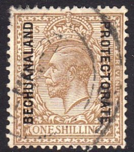 1913 - 1924 British Bechuanaland KGV 1/ bister used Sc# 91 CV $45.00