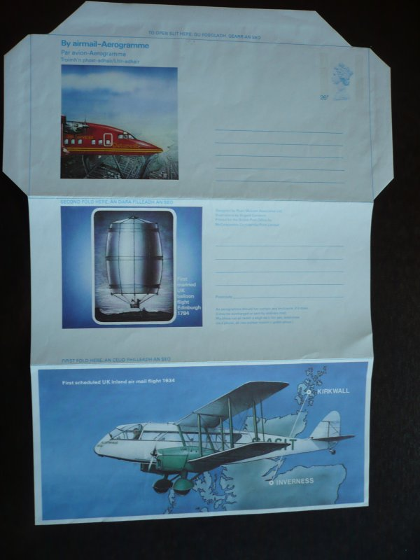 Great Britain - Aerogramme Unused.