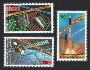Djibouti Space Telecommunications Development 3v SG#966-968