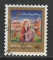 2001 New Zealand - Sc 1737 - used VF - 1 single - Christmas