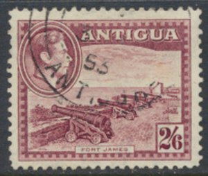 Antigua SG 106  Used   SC# 203 Fort James   see scan / details