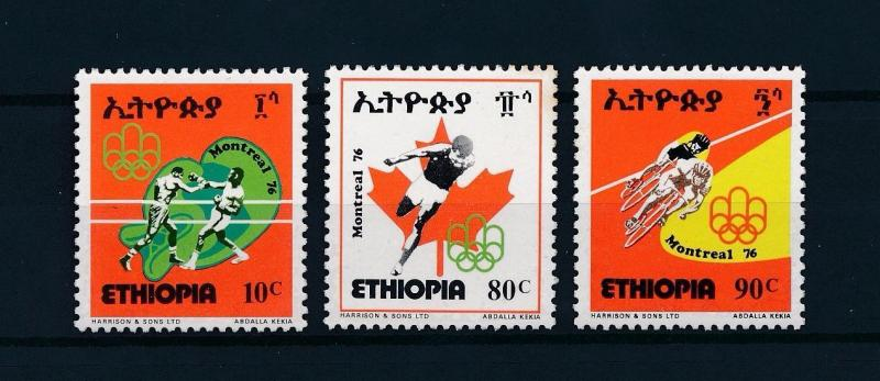 [56251] Ethiopia 1976 Olympic games Boxing Cycling LT
