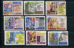 Russia #2667-75 used - Make Me An Offer