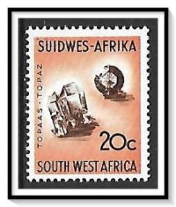 South West Africa #328 Topaz MLH