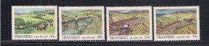 SOUTH AFRICA - TRANSKEI SC# 155-58   FVF/MNH  1985