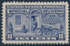 #E12a 10c 1922 SPECIAL DELIVERY DEEP ULTRA SUPERB OG NH GEM CV $950 HW4723