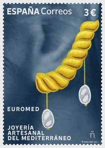 Stamps Spain 2021 - Euromed 2021 - Handcrafted Jewellery In The Mediterranean -