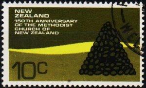 New Zealand. 1972 10c S.G.982 Fine Used