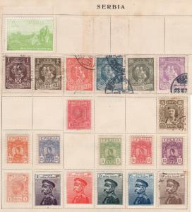 Serbia 1880-1918 Valuable Vintage Collections Lot - USED