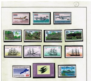 UK STAMP Marshall Islands  MNH/OG STAMPS COLLECTION LOT  #1