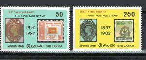Sri Lanka 651-652 MNH