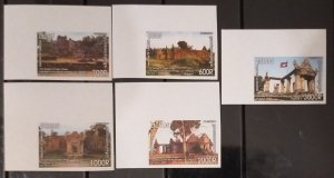Cambodia MNH imperf stamps 2008 : Preah Vihear temple, the World Heritage