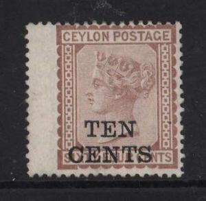 Ceylon #104 Mint