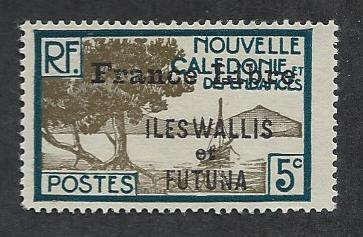 WALLIS AND FUTUNA ISLANDS SC# 98 FINE OG 1941-3