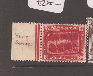 Malaya Jap Oc Selangor 6c Red Chop SG J212b MNH (10avp)