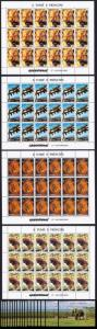 Sao Tome Wild Animals Elephant Tiger Lion Full Sheets+18 MSs HUGE Cat. Value