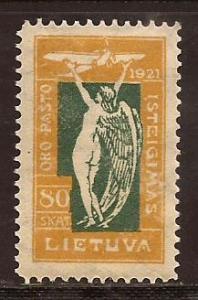 Lithuania  #  C - 11  Mint