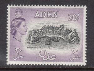 Aden #61a VF Mint