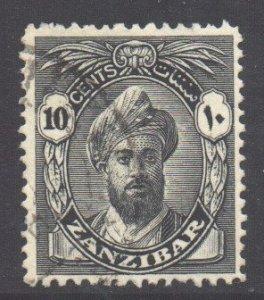 Zanzibar Scott 202 - SG311, 1936 Sultan 10c used