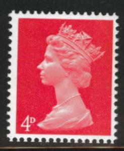 Great Britain Scott MH7 MNH** 1967 Machin