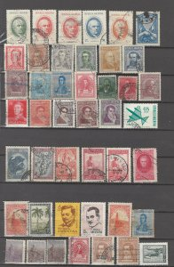 COLLECTION LOT # 18L ARGENTINA 44 STAMPS CLEARANCE