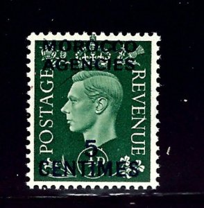 Great Britain Offices in Morocco 440 MNH 1937 overprint