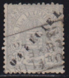 Luxembourg 1878-80 SC O33 USED