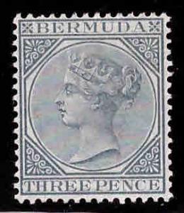BERMUDA Scott 23 MH* 1886 Victoria CA wmk  CV $27.50
