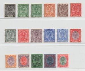 Malaya Pahang - 1950 - SG 29-45 - MH
