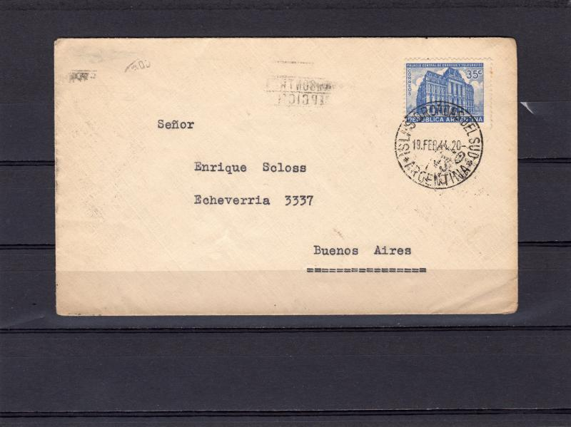 South Orkney Islands (Argentina) 1944 Letter send to Bs.As.Polar Cover
