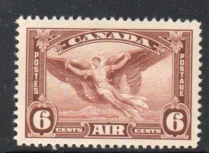 Canada Sc C5 1935 6c Daedalus Airmail stamp mint NH
