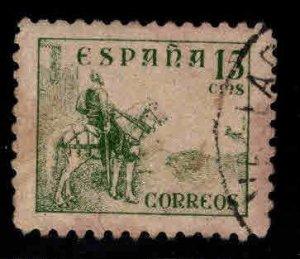 SPAIN Scott 666A Used Type 2 Modern 5