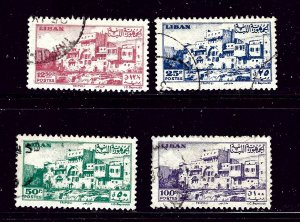 Lebanon 206-09 Used 1947 part set