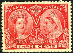 Canada #53 MINT OG HR