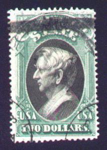 MALACK O68 F-VF, thin, Nice used stamp!! n250