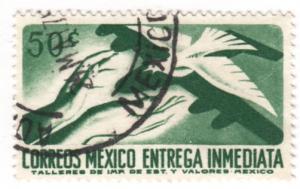 Mexico, Scott # E18(4), Used