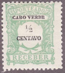 Cape Verde J21 Postage Due 1921