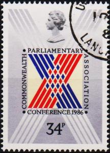 Great Britain. 1986 34p S.G.1335. Fine Used