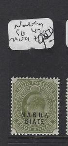 INDIA  NABHA   (P2508B)   KE 4A  SG 47   MOG