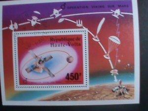 Upper Volta Stamp-1976 Operation Viking Sur Mars CTO MNH-S/S sheet