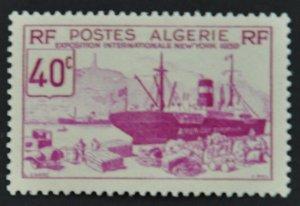 DYNAMITE Stamps: Algeria Scott #127 – MINT hr