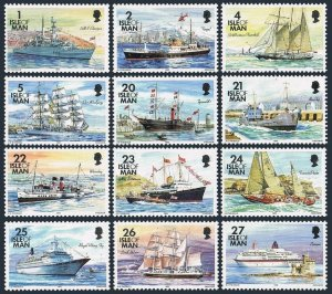 Isle of Man 531-550,MNH.Michel 530/541. Ships inscribed 1993.
