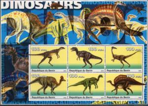 Benin MNH S/S Dinosaurs #1 2003 Large Size
